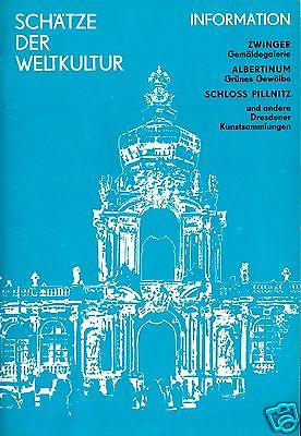 Schätze der Weltkultur, Infos zu Dresdener Museen und Kunstsammlungen, 1976