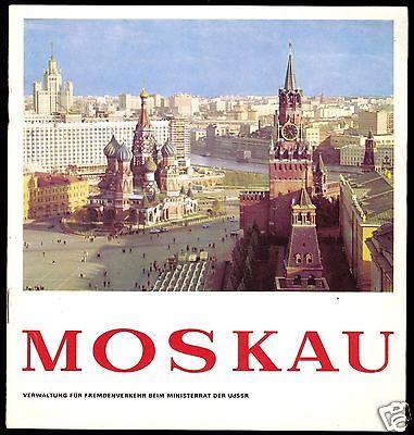 Tour. Broschüre, Moskau, um 1978