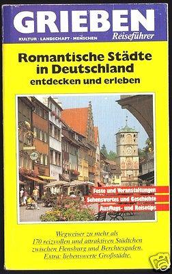 Grieben Reiseführer, Romantische Städte in Deutschland, 1988