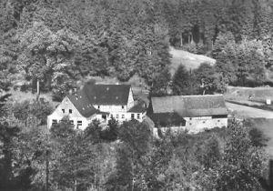Ansichtskarte, Kleinolbersdorf b. Karl-Marx-Stadt, Gaststätte 1968