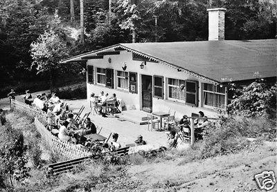Ansichtskarte, Katzhütte Thür., Waldgaststätte