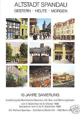 Altstadt Spandau - gestern - heute - morgen, Ausstellungskatalog, 1990
