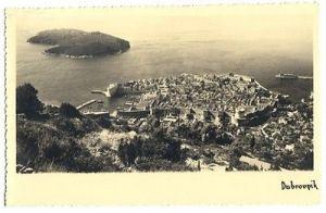 Ansichtskarte, Dubrovnik, Kroatien, Gesamtansicht, 1936