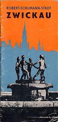 Tour. Broschüre, Robert-Schumann-Stadt Zwickau, 1977