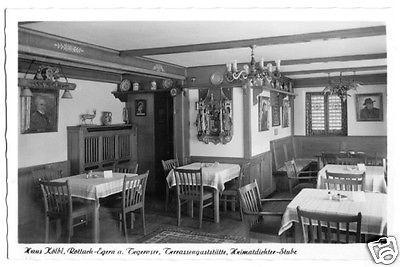 Ansichtskarte, Rottach - Egern, Haus Kölbl, Heimatdichter-Stube