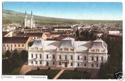 Ansichtskarte, Versecz, Vršac, Teilansicht, 1915