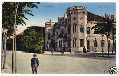 Ansichtskarte, Komárom, Tiszti kaszinó, um 1916
