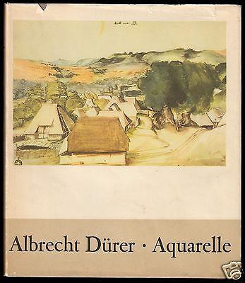 Dürer, Albrecht, Aquarelle, 24 farbige Tafeln, 1971