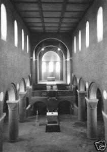 Ansichtskarte, Jerichow, Klosterkirche, Innenansicht, 1968