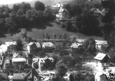 Ansichtskarte, Schwarzburg Thür. Wald, Teilansicht, 1963