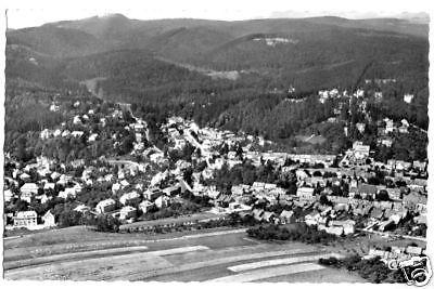 Ansichtskarte, Bad Sachsa Südharz, Luftbildansicht, 1957