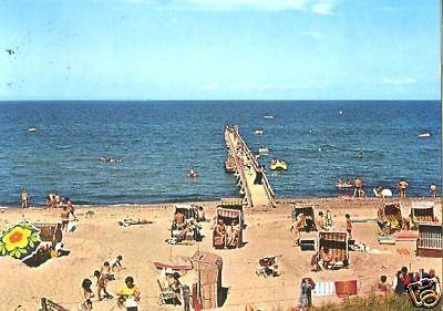 Ansichtskarte Ostseebad Weissenhauser Strand Strandpartie 1982 Nr