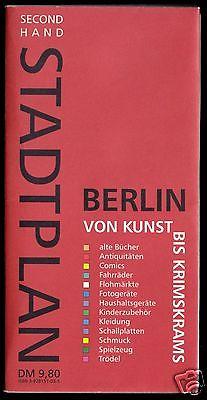 Thematischer Stadtplan, Berlin von Kunst bis Krimskrams, 1998