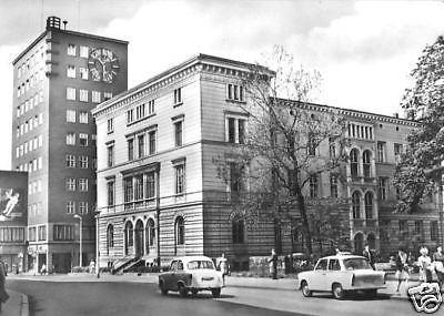 Ansichtskarte, Gera, Rat des Bezirkes, 1966