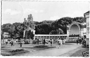 Ansichtskarte, Ostseebad Göhren Rügen, Konzertplatz, 1959