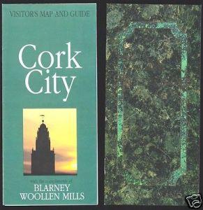 2 Faltblätter, Cork City, Ort und Hotel Metropole, um 1994