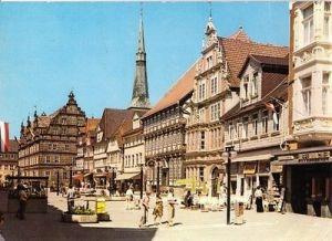 Ansichtskarte, Hameln a.d. Weser, Osterstraße, belebt, 1981