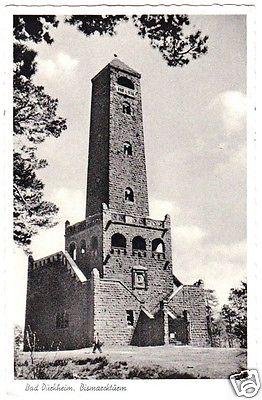 Ansichtskarte, Bad Dürkheim, Bismarckturm, 1960