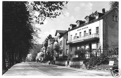 Ansichtskarte, Bad Elster, Straße der DSF mit Haus