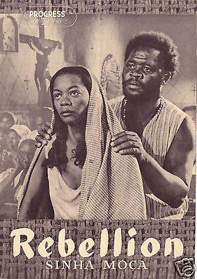Progress Filmillustrierte, Rebellion, Sinhá Moca, 1956