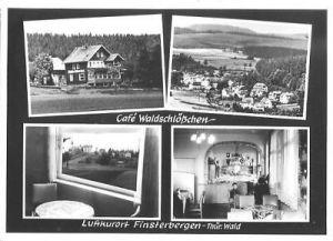 Ansichtskarte, Finsterbergen, Café