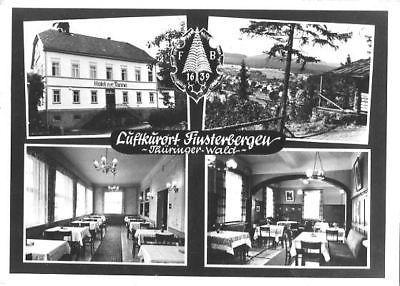Ansichtskarte, Finsterbergen, 4 Abb., u.a. Hotel zur Tanne, 1972