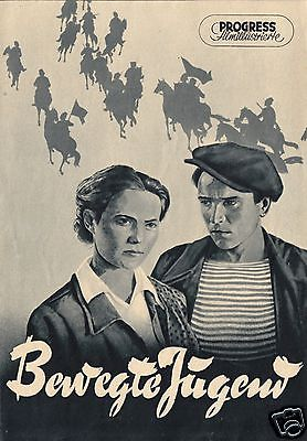 Progress Filmillustrierte, Bewegte Jugend, 1956