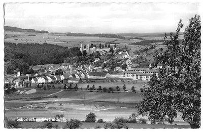 Ansichtskarte, Schönecken-Wetteldorf, Gesamtansicht, 1965