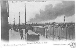 Ansichtskarte, Hoboken - Anvers, Antwerpen, OT Hoboken, Industrieunfall, Version 4, um 1900