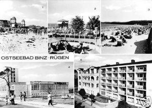 Ansichtskarte, Ostseebad Binz Rügen, fünf Abb., 1978