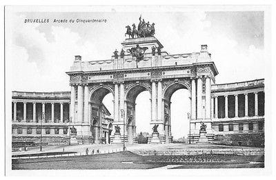 Ansichtskarte, Brüssel, Bruxelles, Arcade du Cinquantenaire, 1917