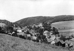 Ansichtskarte, Döschnitz Kr. Rudolstadt, Teilansicht, 1981