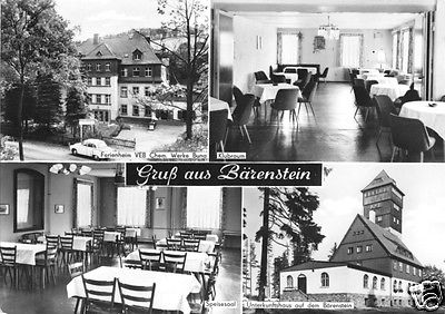 Ansichtskarte, Bärenstein Erzgeb., Heim Chem. Werke Buna, 1967