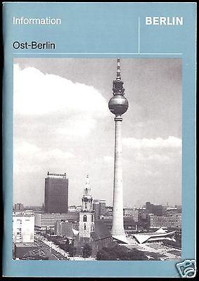 Ost-Berlin - Eine Beschreibung politischer u. gesellschaftlicher Strukturen 1984