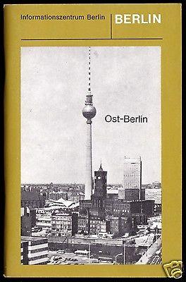 Ost-Berlin - Eine Beschreibung politischer u. gesellschaftlicher Strukturen 1981