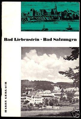 Tour. Broschüre, Bad Liebenstein - Bad Salzungen, 1970
