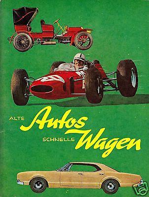 Von Aukamp, Peter; Alte Autos-Schnelle Wagen, Kleine Herba-Sammelbildreihe, 1970