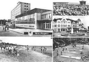 Ansichtskarte, Ostseebad Binz Rügen, fünf Abb., 1981