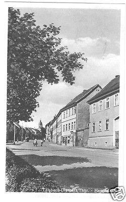 Ansichtskarte, Tambach - Dietharz Thür., Hauptstr., 1952