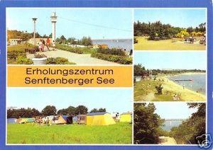 Ansichtskarte, Kreis Senftenberg, Erholungszentrum Senftenberger See, fünf Abb., 1984