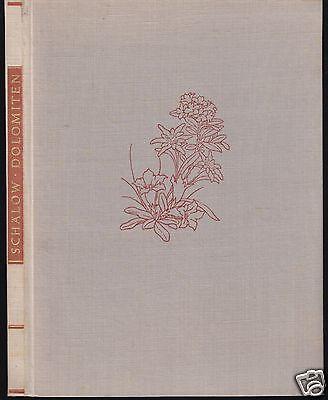 Schälow, Ernst; Es blüht in den Dolomiten, Bildband, 1959