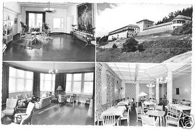 Ansichtskarte, Höxter Weser, Weserbergland-Klinik, 4 Abb., 1961