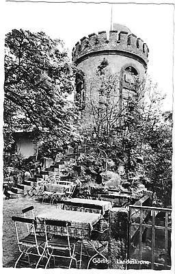 Ansichtskarte, Görlitz, HOG Landeskrone, Kleiner Turm Garten, 1965