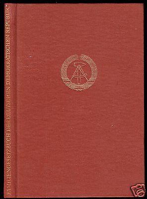 Familiengesetzbuch der DDR, Textausgabe, 1980