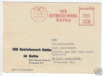 AFS, VEB Getriebewerk Gotha, o Gotha, 58, 2.8.72