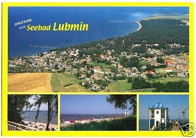 Ansichtskarte, Seebad Lubmin, vier Abb., um 2000