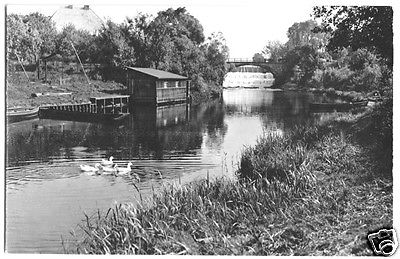 Ansichtskarte, Märkisch Buchholz, Am Kanal, 1963