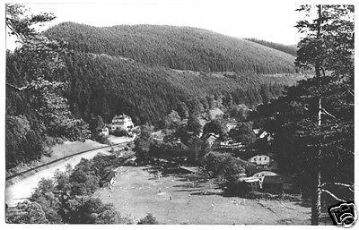 Ansichtskarte, Meuselbach-Schwarzmühle, OT Schwarzmühle, Bad, 1961