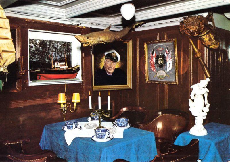 Ansichtskarte, Alvesen ü. Ehestorf bei Harburg, Gaststätte