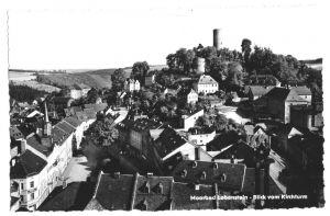 Ansichtskarte, Lobenstein, Blick vom Kirchturm, 1964